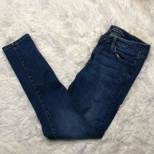 Mossimo medium wash skinny jeans